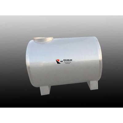 1 Ton  Yatay  Depo Paslanmaz  Depo - 1000 litrelik Su Deposu