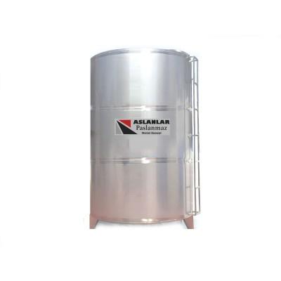 1 Ton  Dikey Depo Paslanmaz  Depo - 1000 litrelik Su Deposu
